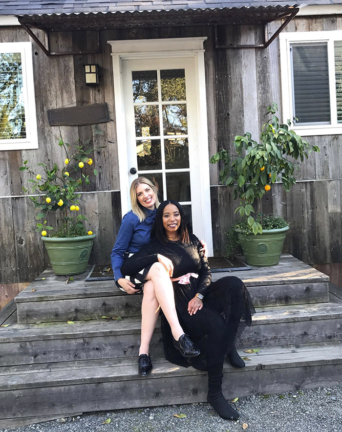 Emma Huges, Director of Care and Danielle Moore, Wedding Director